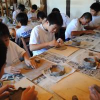団体陶芸教室2