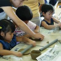幼稚園陶芸教室