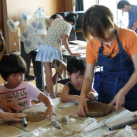 幼稚園陶芸教室2